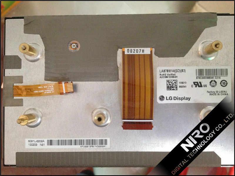 DHL/Ems Pengiriman Baru Asli + Mobil TFT LCD Monitor dengan LA070WV4 (SD) (03) dalam Kondisi Yang Baik