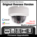 HIKVISION DS-2CD2142FWD-IS(2.8mm) Original English version IP camera 4MP IPC Security Camera POE H265 CCTV camera ONVIF P2P HIK