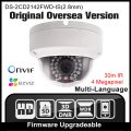 Hikvision ds-2cd2142fwd-is (2.8mm) original inglés versión ip cámara de $ number mp cámara de seguridad poe ipc h265 cctv cámara onvif p2p hik
