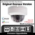 Hikvision ds-2cd2142fwd-is (2.8mm) versão original em inglês 4mp câmera ip câmera de segurança poe ipc h265 câmera de cctv onvif p2p hik