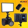Viltrox L116T Luz de vídeo LED Bi-Color regulable Slim DSLR + batería + cargador para Canon Nikon Cámara Facebook youTube y en directo