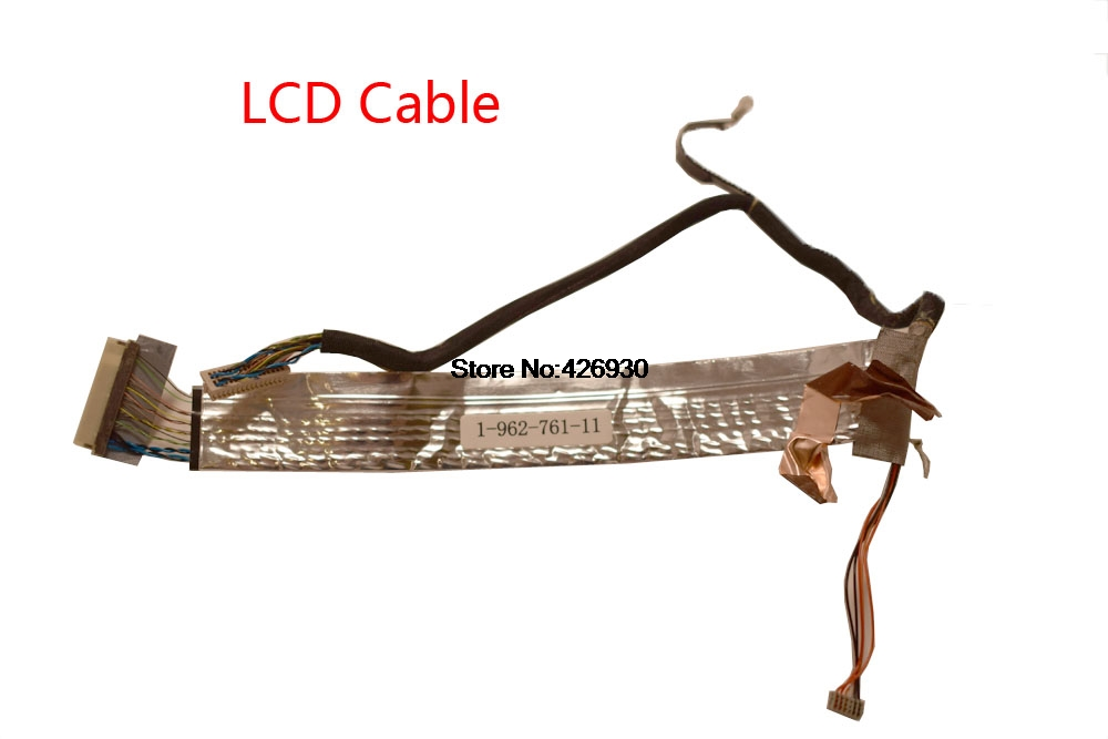Us 88 Laptop Lcd Cable For Sony Vgn S Vgn S1 S2 S3 Vgn S16c S17c S18c S26c S36c 1 962 761 11 Mcf 509pam05 And Hinge Fan Speaker In Computer Cables