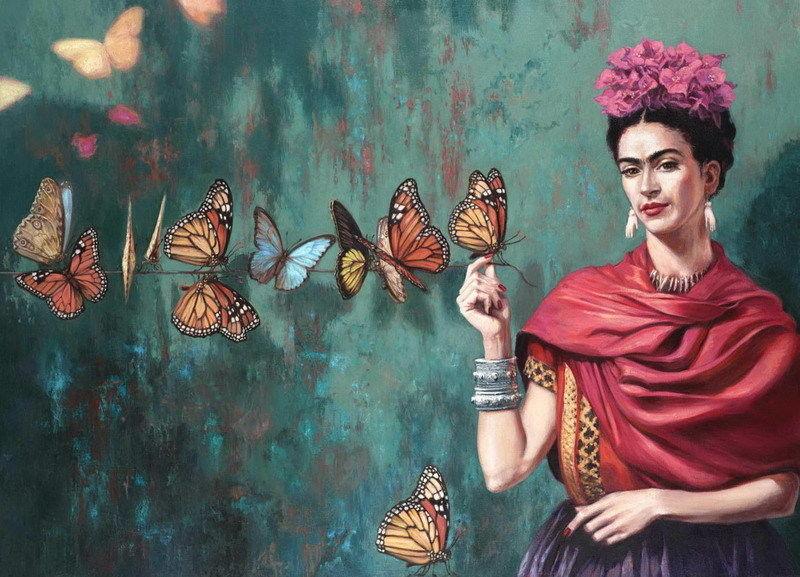 Aliexpresscom Buy Mx06273 Frida Kahlo Self Taught Self