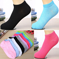 1Pair Women Low Cut Ankle Socks Casual Soft Cotton Woman Sock Loafer 5 Colors Cute Anti Odor Antibacterial Comfortable Hot Sale