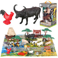 Movies Action&Toy Figures Jurassic Tyrannosaurus Dragon Dinosaur Farm Poultry Park Model 12 Stytle Animal Collection Model Toys