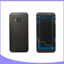Original complete full housing for HTC one M9 battery cover back case door + LCD frame faceplate front plate
