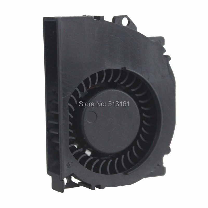 Купить с кэшбэком 10 Pcs Ball Bearing Brushless DC Cooling fan 0.16A 5010B 12V 50x40x10mm 50mm Blower Fan