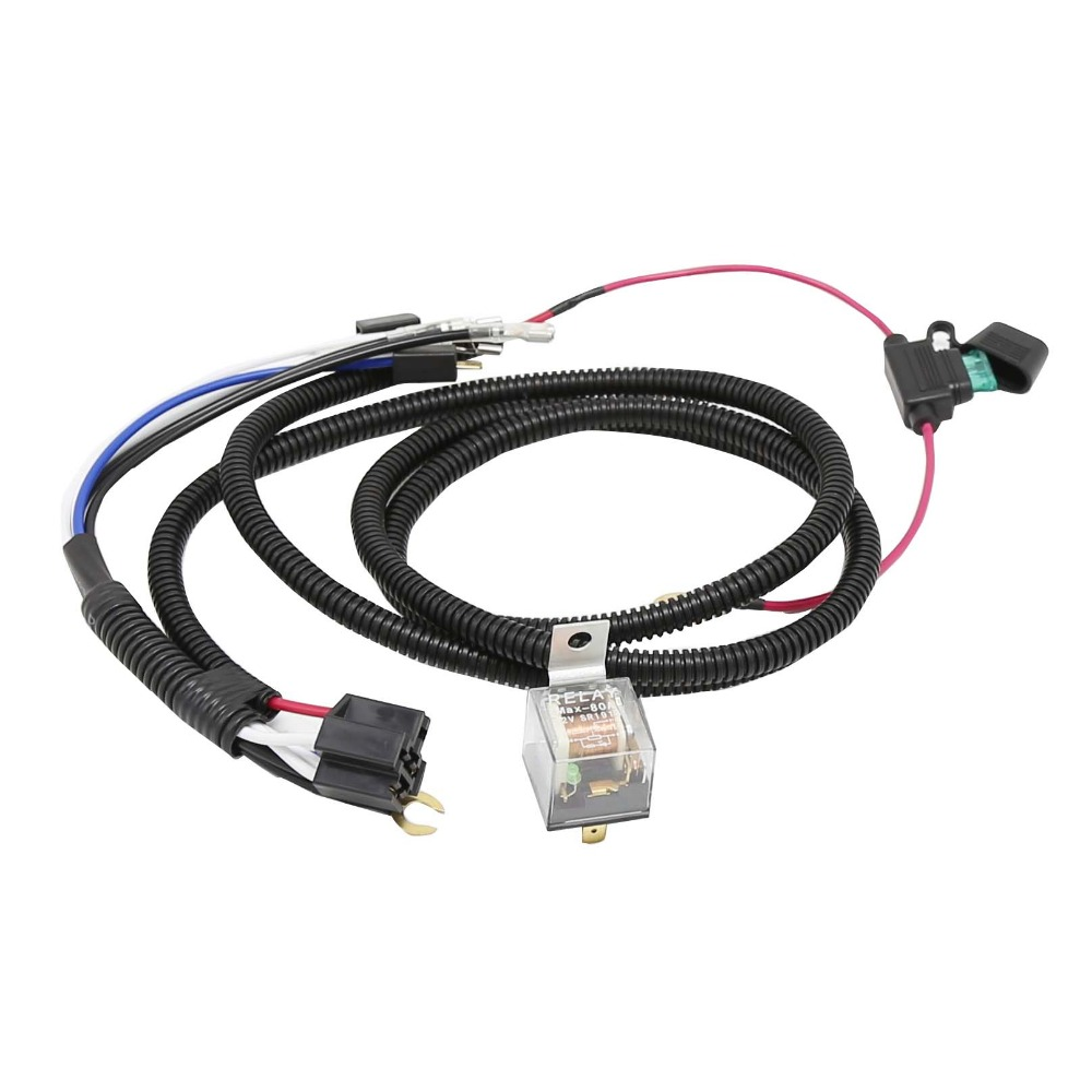 hight resolution of dhka 12v truck car horn relay wiring harness kit for grille mount blast tone horns