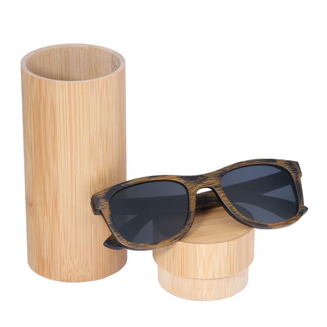 Unisex Rustic Wooden Sunglasses