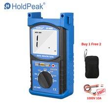 HoldPeak HP-6688B 6688B testeur de résistance d'isolation 6688B portable numérique 1000 V 5000 V gamme automatique ohm testeur mégohmmètre cadeau