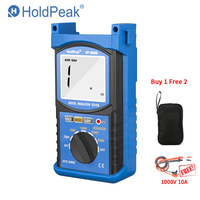 HoldPeak HP 6688B 6688B Insulation Resistance Tester 6688B Protable Digital 1000V 5000V Auto Range ohm tester Megohmmeter GIFT