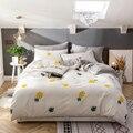 Комплекты постельного белья с золотым ананасом 3/4 шт.  постельное белье с геометрическим узором  пододеяльник 1 2 м/1 5 м/1 8 м/2 0 М  простыня  наво...