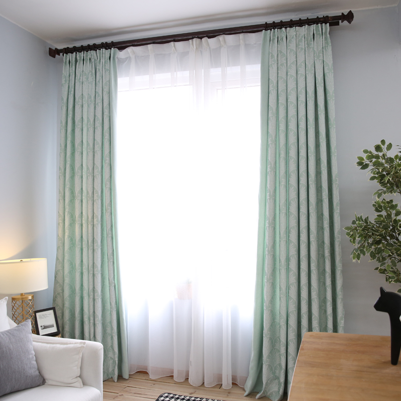 1 Piece Modern Bedroom Curtains Panels Lr Yeyu Custom Semi Blackout Window Blinds Kitchen Hotel Curtain For Living Room