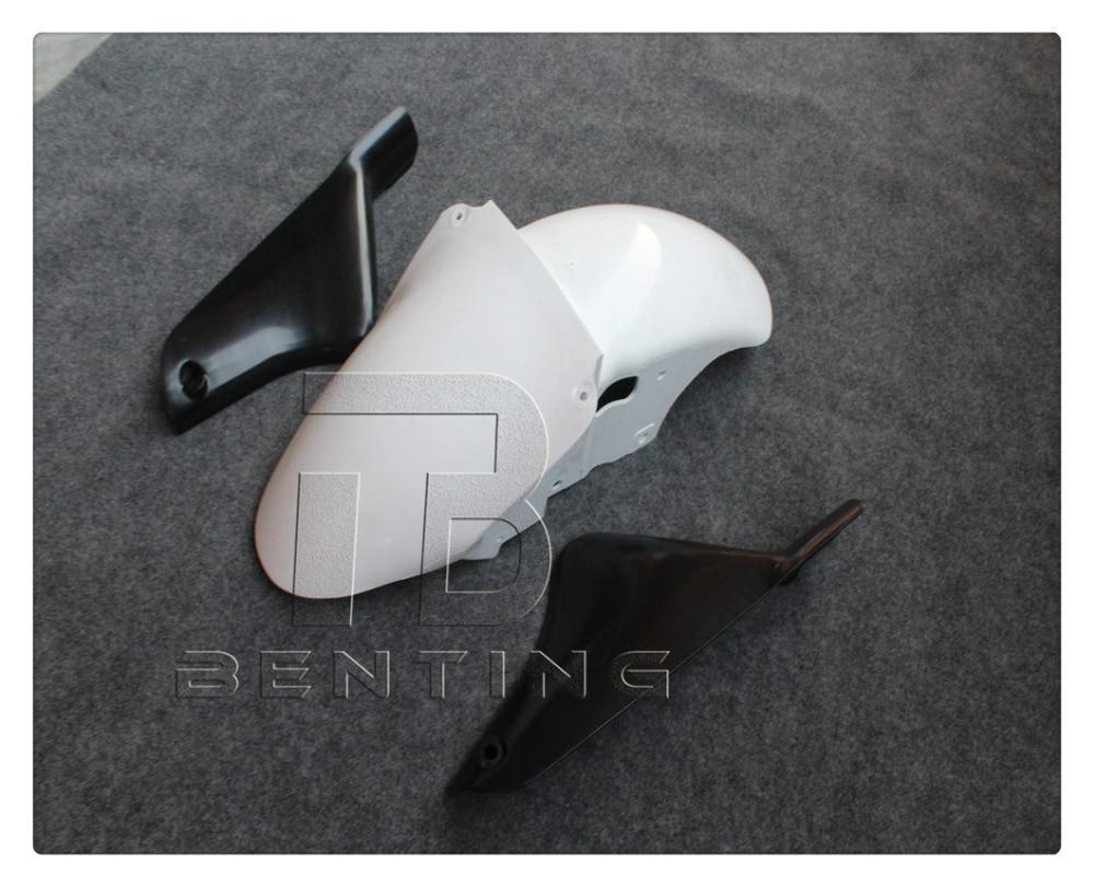 Некрашеный переднее крыло брызговик обтекатель для Kawasaki на ZX-6р 636 запросу zx6r 2000-2002 СЗР 600 с zzr600 2005-2008