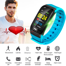 2019 BANGWEI Neue Smart Watch Fitness tracker Heart Rate Blood Pressure Oxygen Monitor IP68 Waterproof Men Women+Box