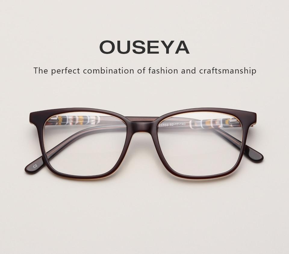 7305e5e9e7e Detail Feedback Questions about Acetate Women Retro Optical Glasses ...