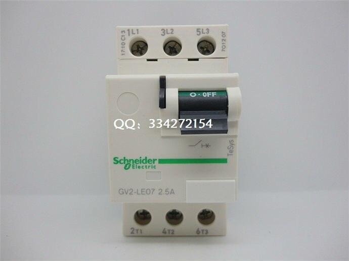 все цены на Motor Protector GV2 Series GV2LE07 GV2-LE07 2.5A онлайн