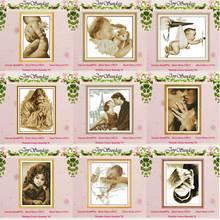 Маленькая девочка, ангел, Счетный крест, 11CT, 14CT, Набор для вышивки крестиком,, сделай сам, Набор для вышивки крестиком, вышивка, рукоделие