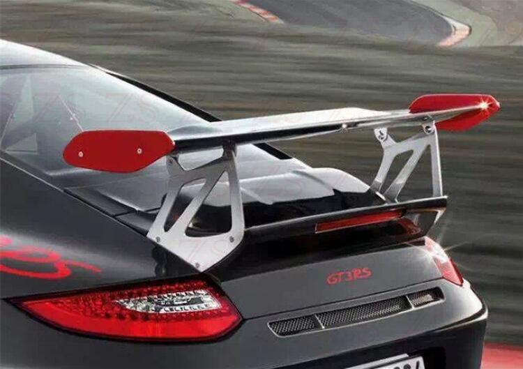 Fibra de carbono & CARTILHA ABS ASA TRASEIRA DO CARRO TRONCO SPOILER PARA Porsche 911 Carrera 997 2005 2006 2007 2008 2009 2010 2011 GT GT4