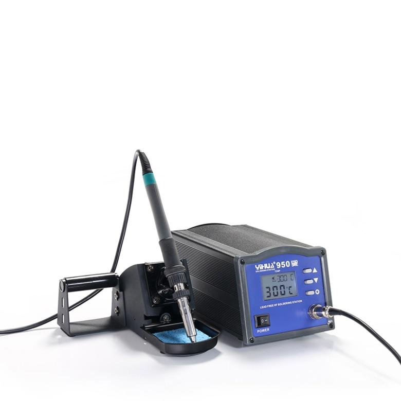 YIHUA-950 Lead-free High Frequency Eddy Soldering Station Electric iron 150W 220V цены