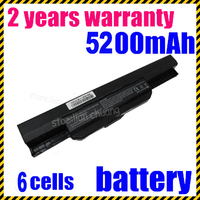 JIGU k53u Batería Modelo De K43J K43S K43U K53B K53E K53F K53J K53S K53T K53U 6 celular con alta calidad
