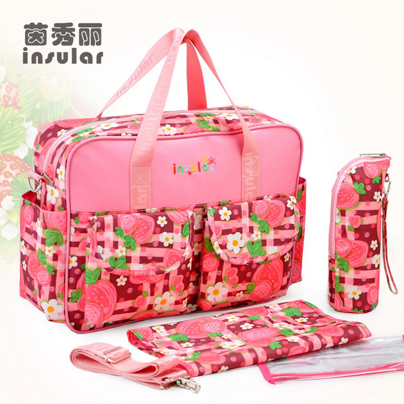 Multi-Function Large Capacity Waterproof Diaper Bags Travel Nappy Bag For Baby Care