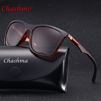 79d46bbccb Chashma marca unisex retro aluminum + tr90 Gafas de sol lente polarizada  vintage Eyewear Accesorios Sol Gafas para hombres/mujeres p536
