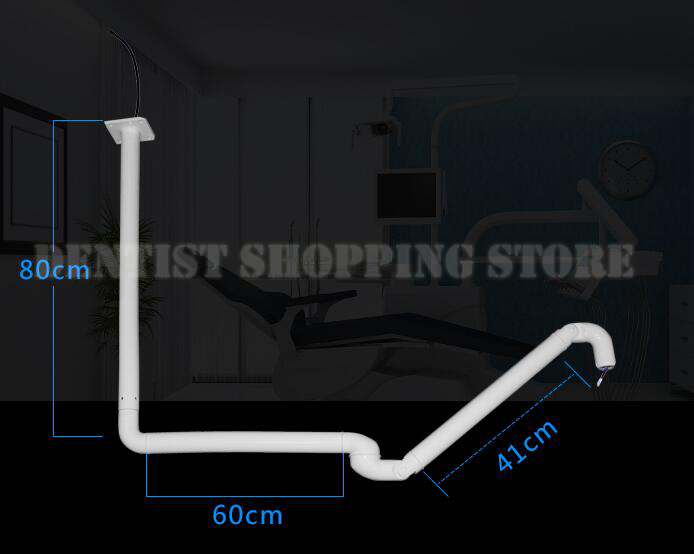 light bracket ceiling mounted arm for dental Led light ceiling lamp post module for dental unit accessories