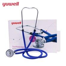 Yuwell المهنية السماعة متعددة الوظائف رئيس معدل أمراض القلب الرئة معدات طبية الجنين البيطري معدل ضربات القلب عدم انتظام