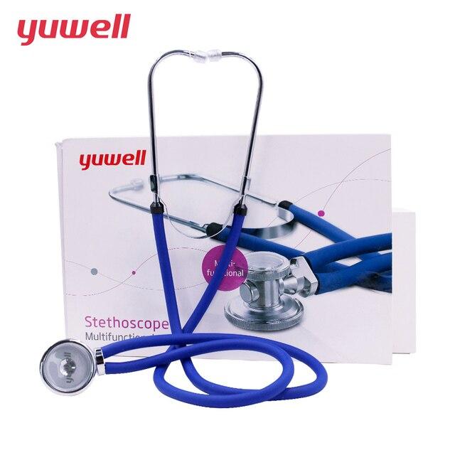 Yuwell プロ聴診器多機能ヘッド心臓率肺医療機器胎児獣医心拍数ムラ