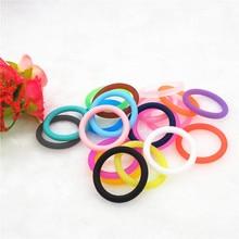 цены на Chenkai 100pcs BPA free Silicone adapter O rings DIY Baby NUK MAM Pacifier O Ring Dummy Nursing Pendant Sensory Toy Accessories  в интернет-магазинах