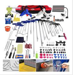 PDR Rods Crowbar Opening Tools Car Paintless Repair Tool Kit Hand Rotated set  Dent Repair Tools Car Body Kit Hand Tool Sets     - title=