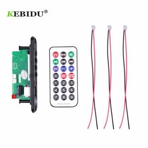 Image 4 - KEBIDU 핸즈프리 MP3 플레이어 디코더 보드 5V 12V 블루투스 5.0 6W 앰프 자동차 FM 라디오 모듈 지원 FM TF USB AUX 레코더