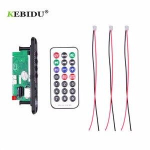 Image 4 - لوحة فك تشفير مشغل MP3 من KEBIDU بدون استخدام الأيدي 5 فولت 12 فولت بلوتوث 5.0 6 واط وحدة راديو FM للسيارة تدعم مسجلات FM TF USB AUX