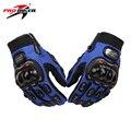 Homens motocicleta pro-biker luvas dedos completa luvas de corrida de motocross off-road luvas da motocicleta luva luvas de moto motocicleta