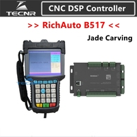 high precision RichAuto DSP B517 CNC controller B517S B517E 3 axis controller for cnc router Jade Carving