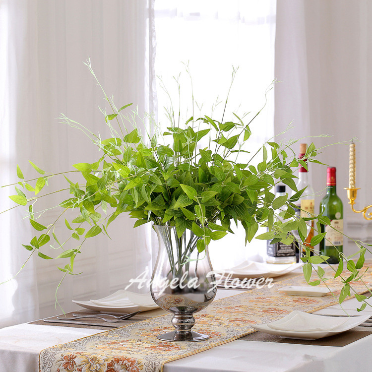Flower Vine Rattan Artificial Plant Leaves Bonsai Vitality