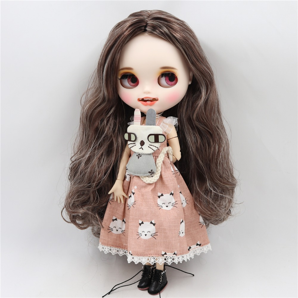 Evette - Premium Custom Blythe Doll with Smiling Face 2