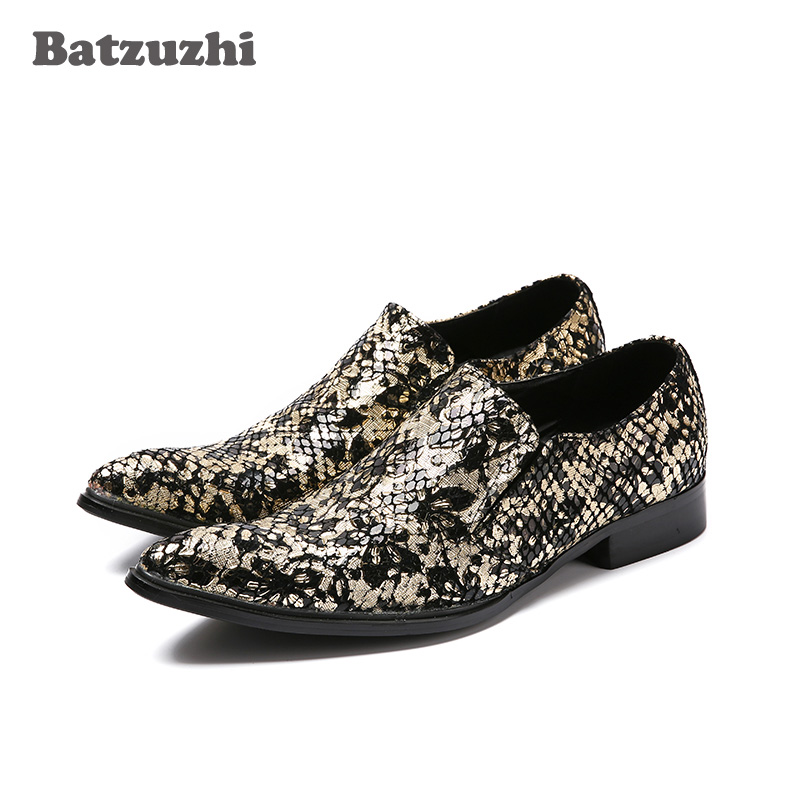 Batzuzhi Fashion Italian Style Leather Shoes Men Pointed Toe Leather Dress Shoes Men Wedding-Business Luxury Shoes for MenBatzuzhi Fashion Italian Style Leather Shoes Men Pointed Toe Leather Dress Shoes Men Wedding-Business Luxury Shoes for Men