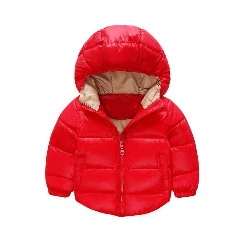2017 Детские зимние штаны теплая куртка с капюшоном пальто Обувь для девочек пальто для мальчиков хлопка с длинным рукавом карманы на молнии ...
