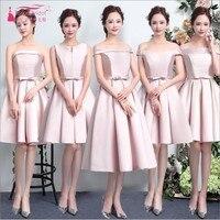 Cheap Price Pink Bridesmaid Dresses Hot High Quality Bridesmaid Dress Sleeveless Ever Pretty A Line Vestido