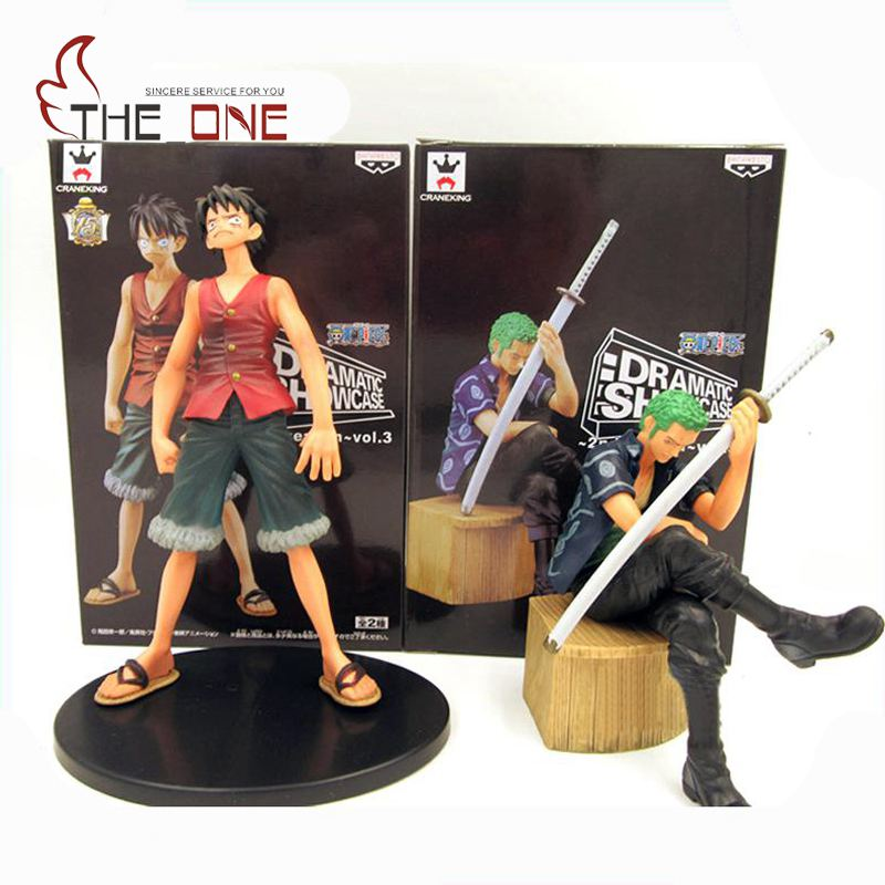 2 Pcs/Set Cartoon One Piece Luffy Zoro Sanji Nami PVC Anime Action Figure Toys Kids Adult Collection Model Gift P012 6 pcs set baby best gift anna elsa action figures toys snow queen pvc model anime toy hans collection gift children kids toys