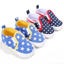 0-18M Infant Baby Toddler Shoes Elastic Fit Soft Sole Comfy Girls Boys Breathable Canvas Shoes  Running Sneakers Prewalkers