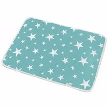 Хлопковая экологическая Пеленка, пеленка, детская Водонепроницаемая Подушка для домашнего питомца