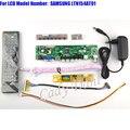 HDMI CVBS RF USB TV AV VGA Controlador Board + Inversor + 1280x800 1ch Lvds Cable + Remoto para LTN154AT01 6 bit LCD Painel