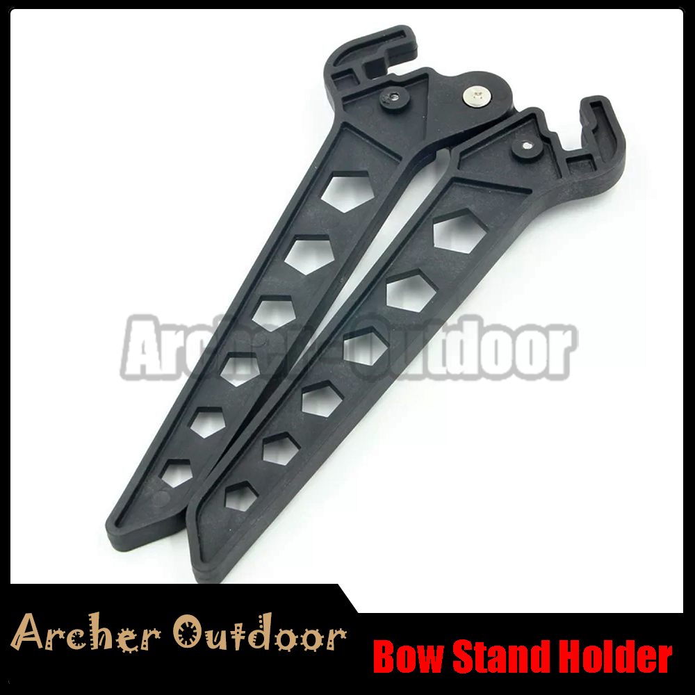 Archery Bow Kick Stand Holder Leg for Compound Bow Target Hunting Shoot Bow Rack