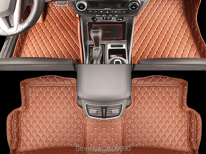 Car Interior Floor Mat Pad Cover Foot Cushion Protective Case For Hyundai Tucson TL 2015 2019 3TH LHD-in Interior Mouldings from Automobiles & Motorcycles    2