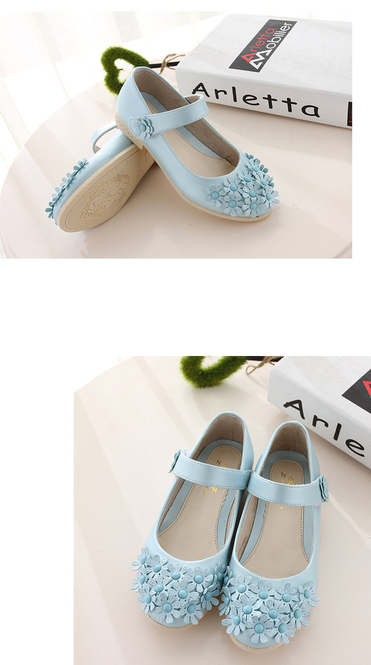 flower Last leather shoes 15