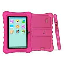 Yuntab Новое поступление 7 дюймов Android 4.4 малыш tablet pc нагрузки iwawa малыш программное обеспечение с 3D-Game, Обучающий планшет для детей