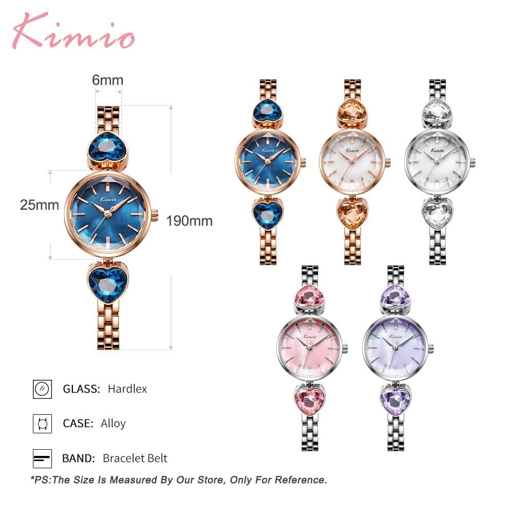 Kimio Luxury Brand Fashion Dress Әйелдер Сағат - Әйелдер сағаттары - фото 3